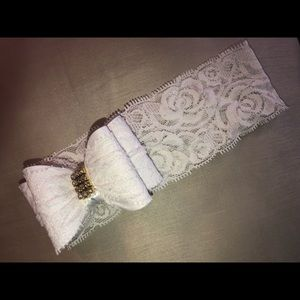 Lace headbands. Multiple colors- check it out